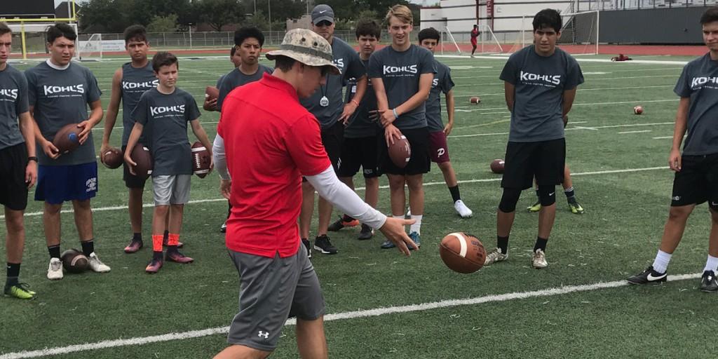 Training Camp Houston Brett Baer